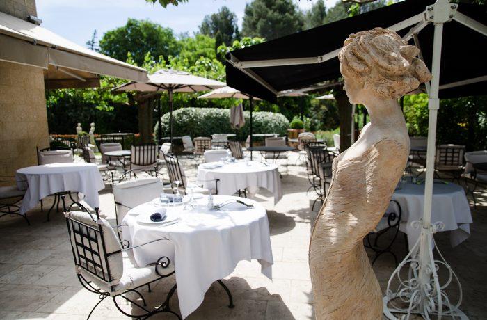 Coussins restaurant Bistro d'été